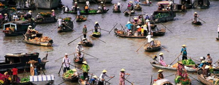 鄉下越南新娘的越南後江省
